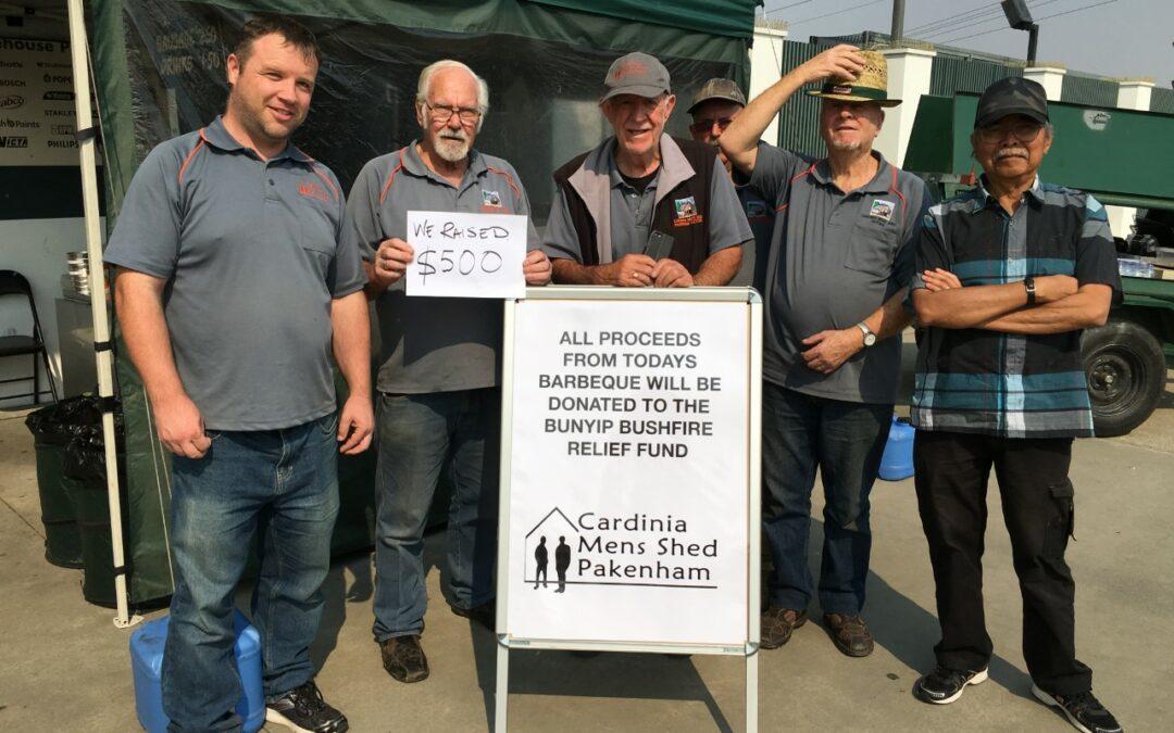 Bunyip Bush Fire relief effort