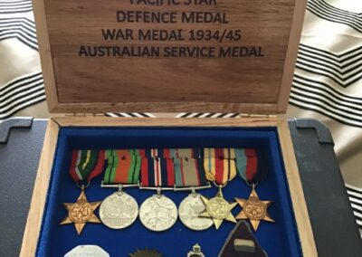Medal Boxes for Returned Service Members